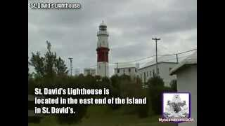 preview picture of video 'St  David's Lighthouse Tour'