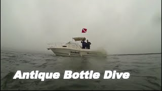 Antique Bottle Dive off Long Island New York