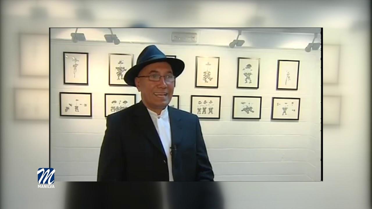 Andrés Puig expone en la oficina de correos de Sabinillas