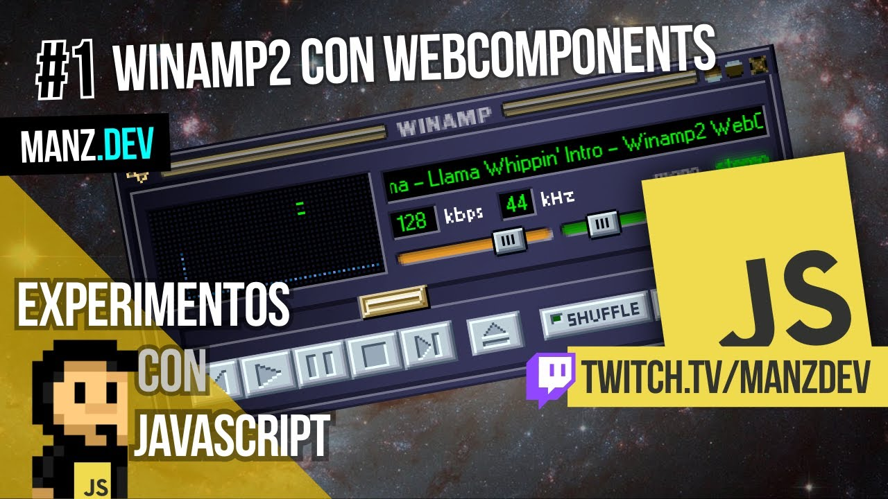 Winamp2 con WebComponents