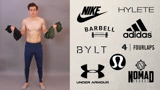 HUGE TRY ON WORKOUT HAUL // Mens Gym Pants And Shorts // Nike, Adidas, Under Armour + MORE