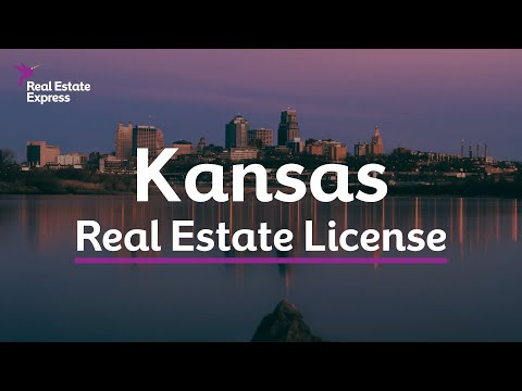 How to Get a Kansas Real Estate License - YouTube