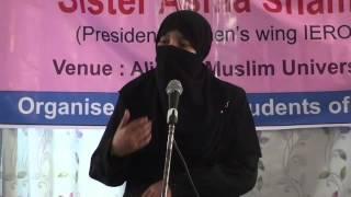 Asma Shams_Ham khawateen ki ideal kaun_Abdullah Hall AMU_Complete