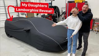 SURPRISING MY DAUGHTER WITH NEW LAMBORGHINI MAKEOVER!