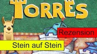 Torres (Brettspiel) / Anleitung & Rezension / SpieLama