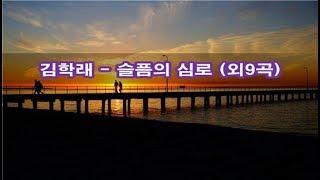 김학래 - 슬픔의 심로 (외9곡) Kpop 韓國歌謠