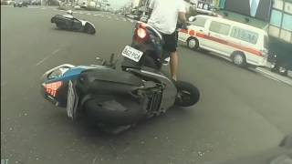 Scooter crash and fail compilation 2018