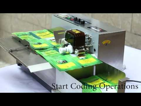 DI 380 SS Dry Ink Coding Machine
