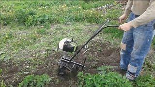 Культиватор из мотокосы для дачного участка видео