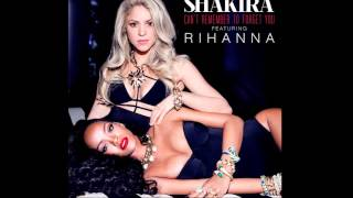 Shakira feat. Rihanna - Can't remember to forget you (Audio) (Speed Up)