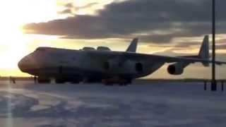 Самый большой транспортный самолет в мире Ан 225.THE BIGGEST PLANE