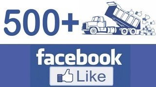 How to get 500 likes on Facebook with in 20 min 2017 (with proof )
