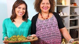 Youtube thumbnail for Kumara Pakora and Lamb Curry with Fresh Raita by Catherine Anderson