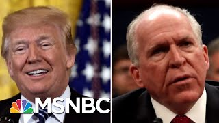 President Donald Trump Gearing Up To Strip More Security Clearances | Velshi & Ruhle | MSNBC