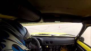 preview picture of video 'Outtakes Rennslalom Opel Kadett C GTE'