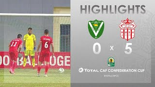 CC CAF : El Nasr 0-5 Hassania Agadir