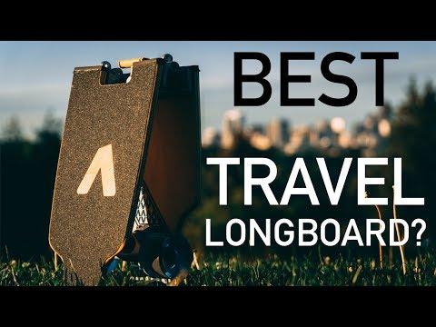 Best Travel Longboard? – Board Up Longboard Review – Travel Skateboard