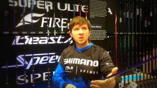 """Спиннинг Shimano TECHNIUM SPINNING 9""""10"""" 14-56 H от компании Спорттовары Рыболов - видео"""