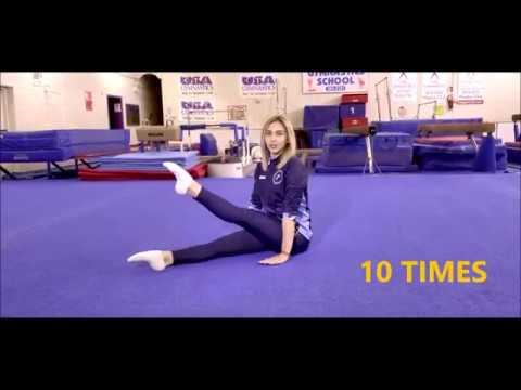Online Gymnastics Workout #2 with Lana's Gymnastics Club.