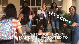 NIGERIA VLOG |  QUICK TRIP TO NAIJA -YOUNG DAUGHTERS OF U.S.A. TAKE ON NIGERIA