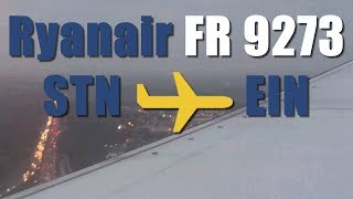 preview picture of video 'Ryanair London Stansted to Eindhoven'