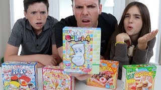 WEIRD JAPANESE CANDY FOOD CHALLENGE!!