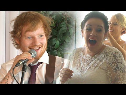 Ed Sheeran Surprises Deserving Wedding Couple