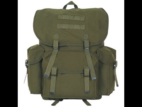 Product Review – Fox Outdoor Products NATO Style Rucksack 16inx10in