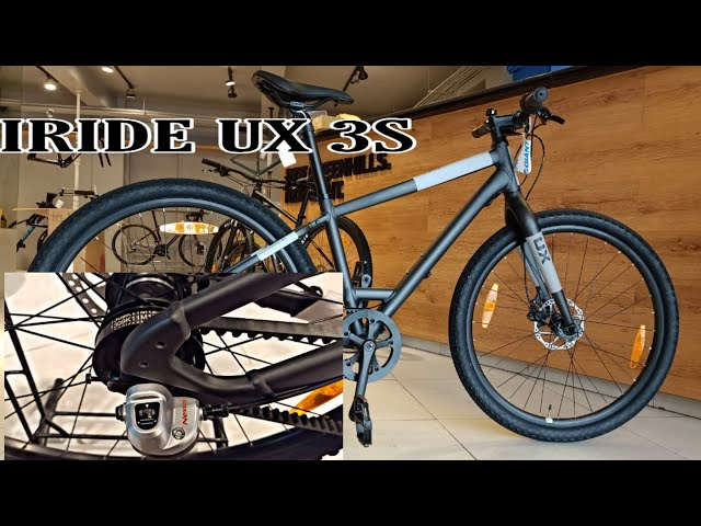 Видео Велосипед Momentum iRide UX 3S Matte Denim/Reflective