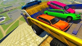 Stairs Jumps #9 BeamNG Drive