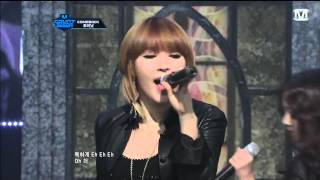 [Live HD 1080p] 120412 - 4Minute - Dream Racer + Volume Up @ M! Countdown.mp4