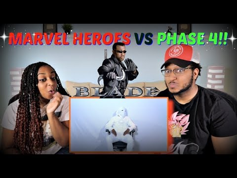 """RDCworld1 """"How Marvel Heroes Feel About Phase 4"""" REACTION!!"""