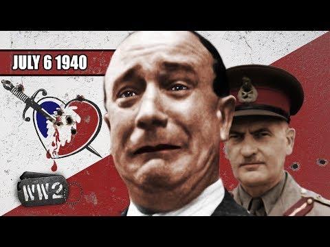 Britové útočí na Francouze v Mers-el-Kébir - Druhá světová válka
