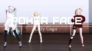 Poker Face - Lady Gaga/MMD