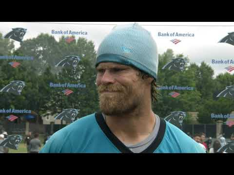 Greg Olsen: It's good to have Cam back out there and bringing the energy