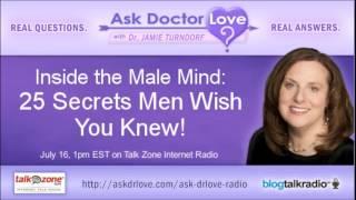 Inside The Male Mind: 25 Secrets Revealed