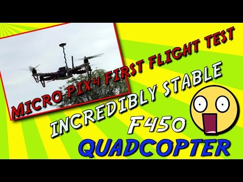 f450-quadcopter--micro-pix4--loiter-mode-incredibly-stable--first-flight-test