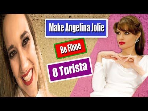 Make inspirada em Angelina Jolie (Filme O Turista)
