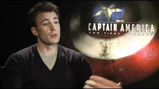 Interview with Chris Evans and Hayley Atwell - CAPTAIN AMERICA: THE FIRST AVENGER Marvel