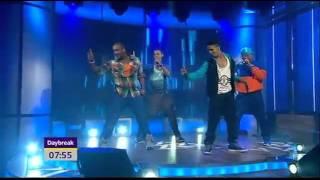 JLS - She Makes Me Wanna - Live On Daybreak 2011