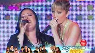 Canto tema libre: Anna Carina y Gabriela Noriega (El Show de los Sueños PERU 07-11-09)