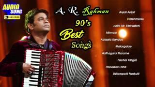 Gambar cover AR Rahman 90's Tamil Hit Songs   Audio Jukebox   AR Rahman Non Stop Tamil Songs   Music Master