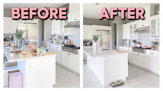 CLEAN WITH ME 2021 | Kitchen & Living Room | Cleaning Motivation by ThatsHeart