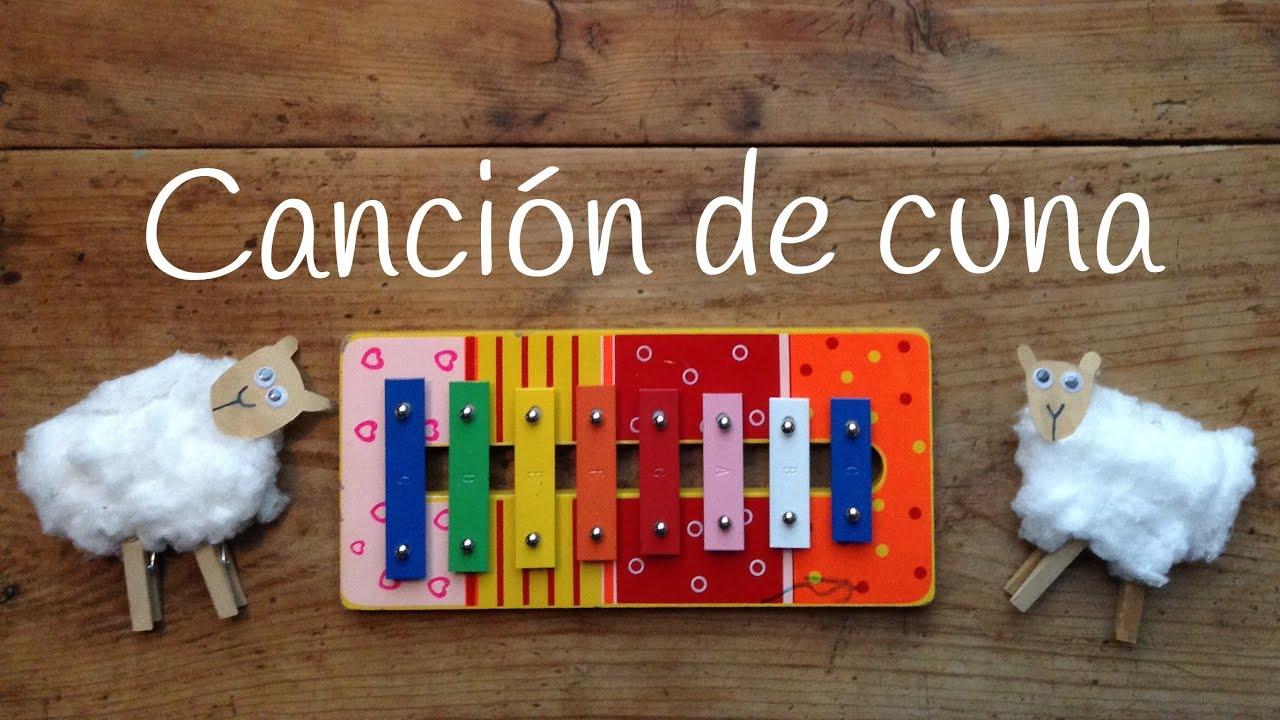 Cómo TOCAR canción de cuna: xilófono | Aprende canciones con XILÓFONO