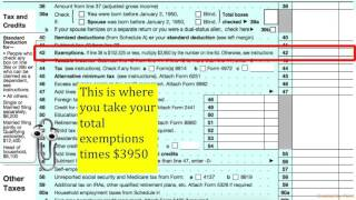Form 1040- Income Tax Return Guide
