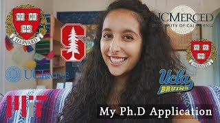 How I Got Into TWO Harvard Ph.D Programs (Application Review)
