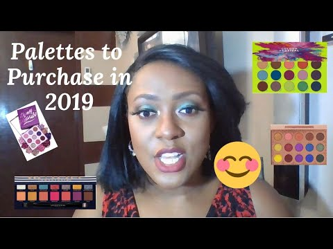 The Best Palettes to purchase 2019| Eyeshadow Review | Trinidad Youtuber