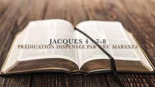 AESEF | RÉSUMÉ DU CULTEDU 25.11.2018: «JACQUES 4: 7-8»
