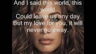 Leona Lewis-Angel w/lyrics