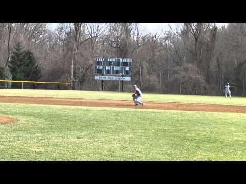 Gilman at SP baseball clip 8  4 2 14